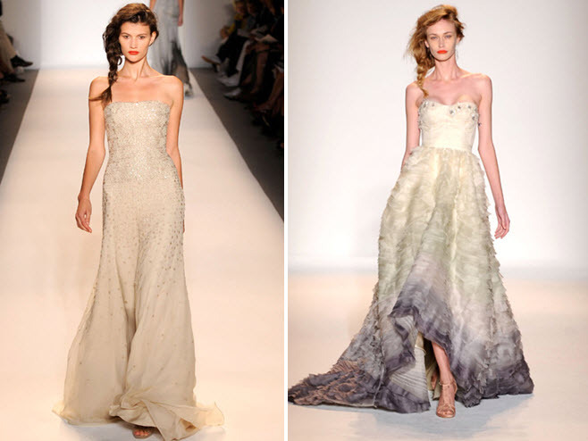 Lela Rose Wedding Dresses Nyc : Gorgeous ombre and beaded wedding dresses from spring
