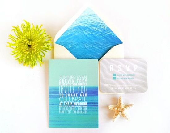 Sand and Ocean Stationery