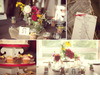 Rustic-country-wedding-decor-details-reception-floral-centerpieces-yellow-ivory-red-wild-flowers-mason-jars-for-vases-cupcake-tree.square