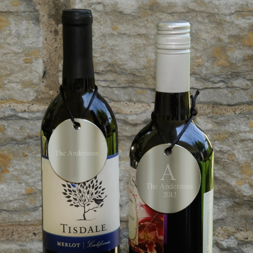Personalized Wine Medallions
