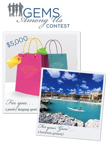 The Gems Among Us contest awards trips and jewelry to people and their helpers.