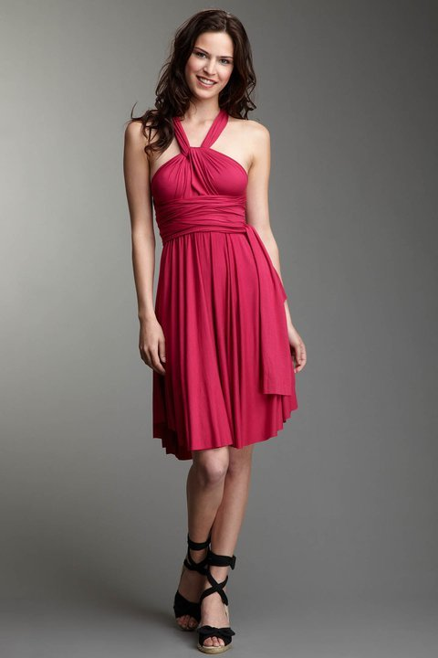Convertible Infinity dress from Tart Collection!  Perfect for the budgetista fashionista!