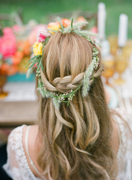 Flower Crown and Braids