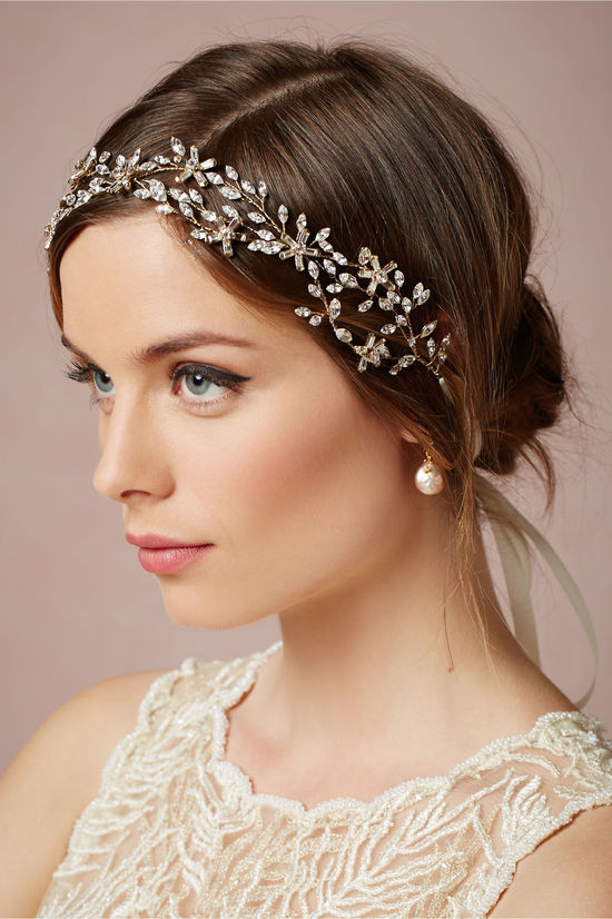 Honeysuckle Bridal Hair Piece