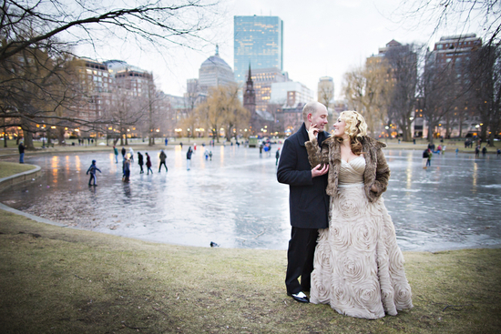 Urban Winter Wedding Photography