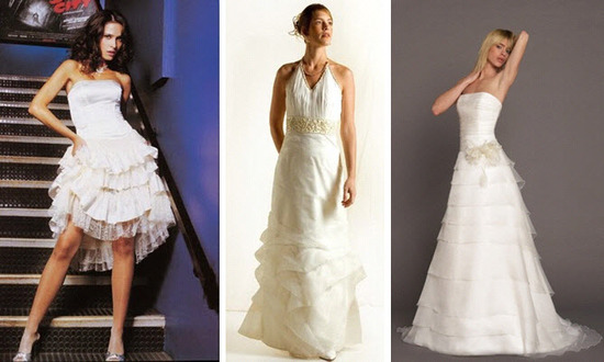 All ruffles are not created equal!  You can incorporate ruffle details in many different ways