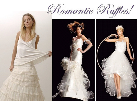 photo of Romantic Bridal Style: Allure Of The Ruffle