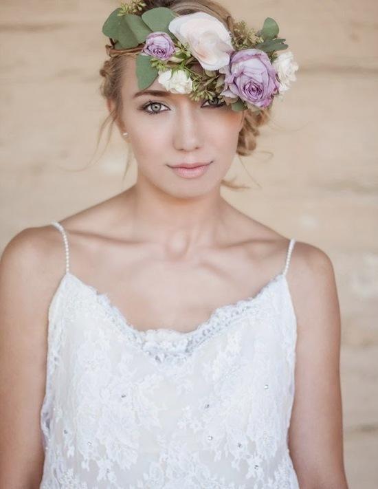 Natural Looking Flower Crown