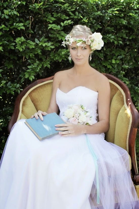 photo of Bride Chic's Trend Watch: The Floral Wreath