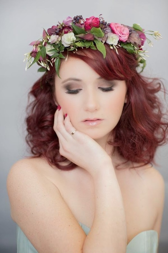 Whimsical Flower Crown