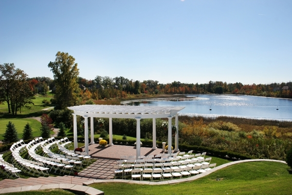 A Stunning Outdoor Wedding Venue Golf Course Or Country Club By The Lake