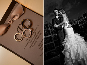 photo of Real Wedding Inspiration: Modern Elegance With A Rock And Roll Edge