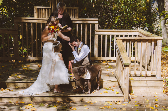 photo of Sweet Autum Elopement Unites a New Family
