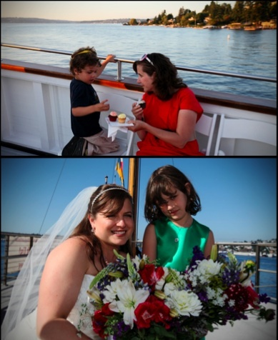 photo of Featured Wedding: A Seattle Cruise