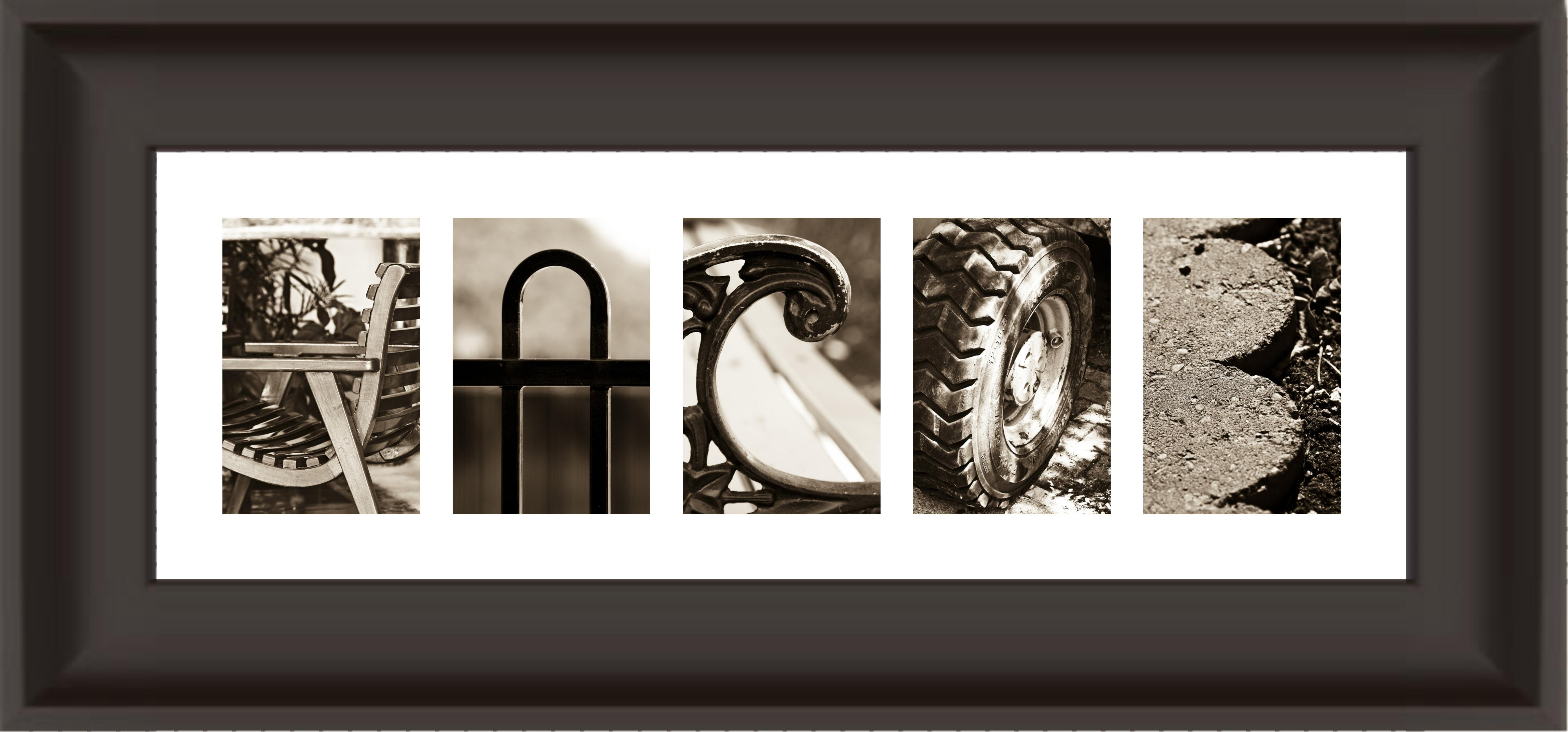 Diy Alphabet Photography Frames - kootation.