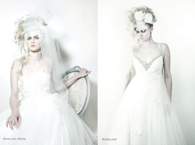 Goth-hipster-unique-bridal-style-wedding-dresses-beaded-v-neckline-floral-applique-dramatic-bridal-headpieces.full