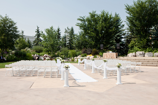 Beautiful Outdoor Ceremony Venue