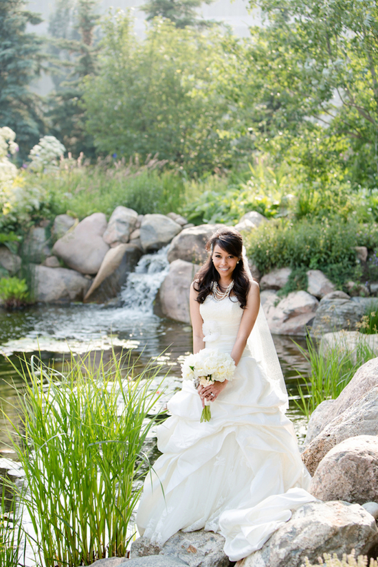 photo of Lovely Luxurious Outdoor Wedding