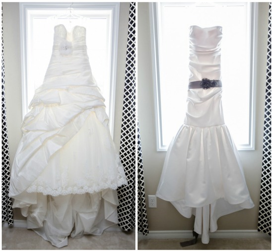 Beautiful Wedding and Reception Gown