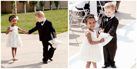 Adorable Flower Girl and Ring Bearer