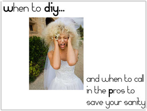 photo of You can save big with DIY wedding projects, but don't lose your sanity in the process