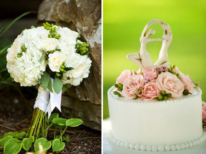 Brides-ivory-green-classic-bridal-bouquet-roses-hydrangeas-classic-white-wedding-cake-artistic-cake-topper.full
