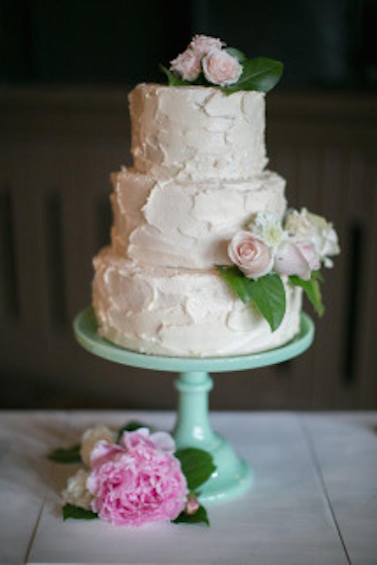 Homemade Wedding Cake.Homemade Wedding Cake