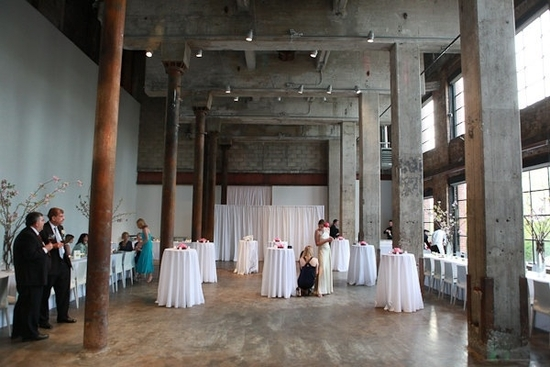 Smack Mellon art gallery in Brooklyn, NY- an eco-chic wedding venue