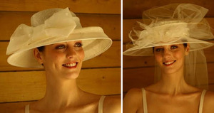 photo of Bride Chic: Picture Perfect Bridal Accessory- The Picture Hat