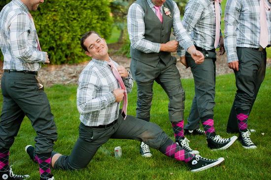 Goofy Groom Photo