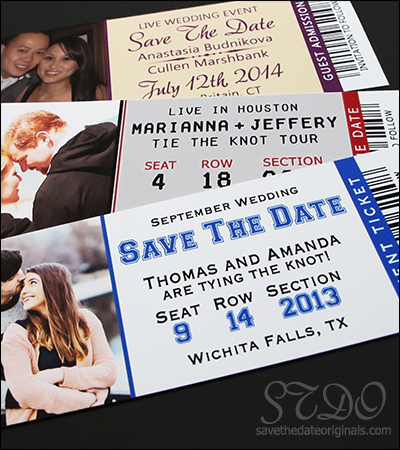 Ticket Save the Dates