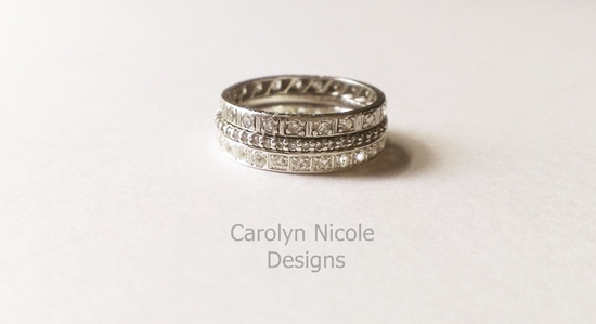 Stack Rings by Carolyn Nicole Designs (1)