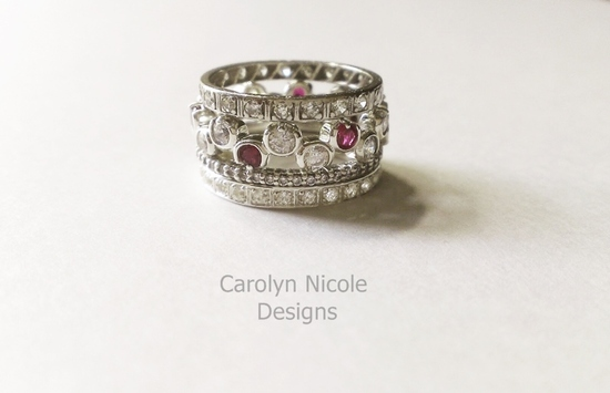 Stack Rings by Carolyn Nicole Designs (2)