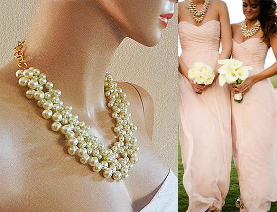 Chunky Bridesmaid Necklace