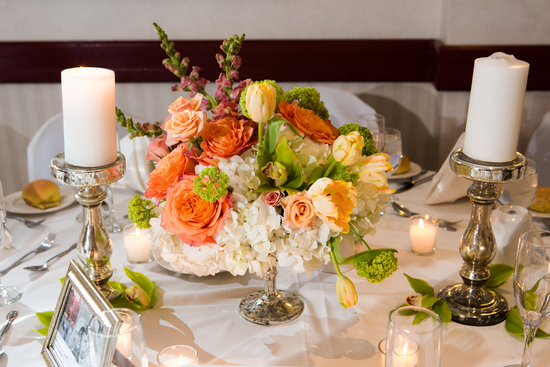 Bright Blooms as a Centerpiece