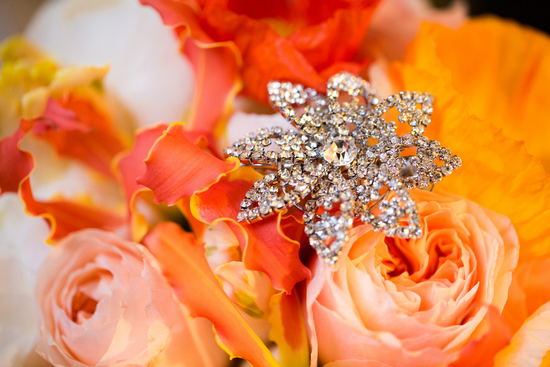 Blingy Accessories and Bright Flowers
