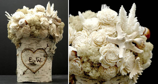 Unique-wedding-flowers-natural-organic-look-white-shells-flowers-coral.full