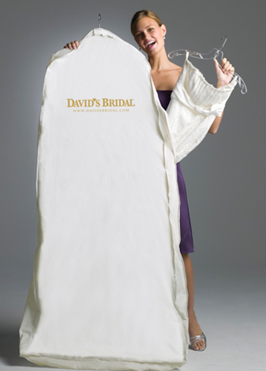David s Bridal Garment Bag