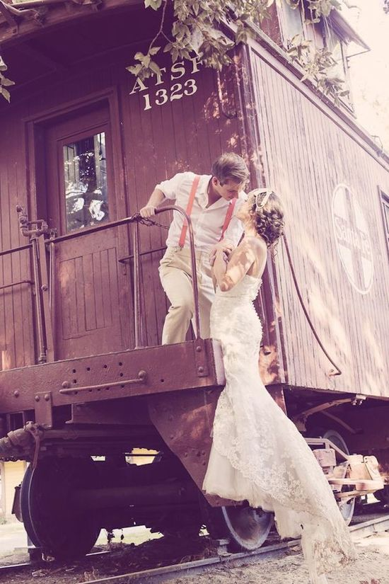 photo of Everything You Ever Wanted to Know About Traveling With Your Wedding Dress