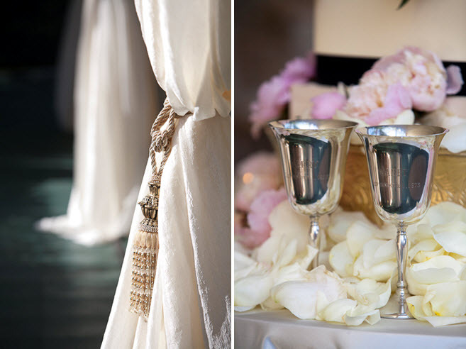 Wedding-details-photography-silver-engraved-toasting-cups-ivory-pink-roses-at-wedding-reception.full