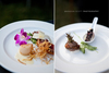 Delicious-wedding-reception-dinner-plates-scallop-steack-purple-orchid-decor-detail.square