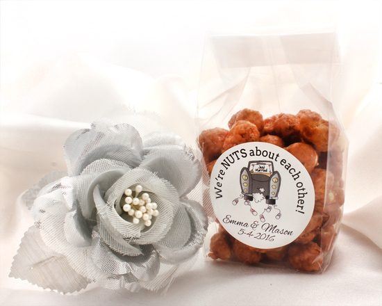 """Nutty"" Wedding Favors"