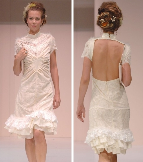 photo of Sculptured Lace Heart Dress