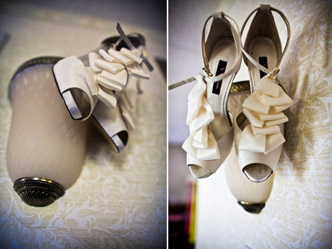 Artistic-wedding-photos-ivory-peep-toe-bridal-heels.full