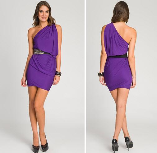 Deep-violet-one-shoulder-designer-dress-belted.full