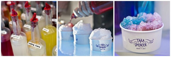 Customized Snow Cones