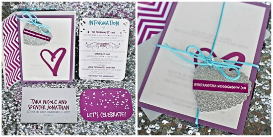Sparkle and Heart Stationery
