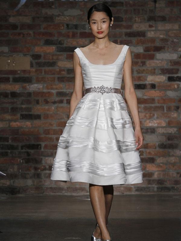 Priscilla-of-boston-wedding-dresses-2010-square-neckline-jeweled-satin-belt-tiered-full-bubble-skirt-knee-length-for-wedding-reception.full
