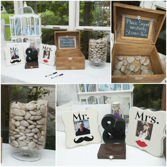 Guest Book Reception Table