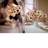 White-black-pink-french-anemones-bridal-bouquet-centerpieces-wedding-flowers.square